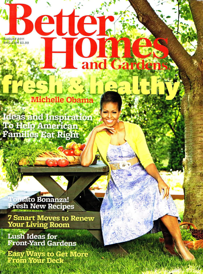 Better homes and gardens august 2011 Better homes and gardens current issue