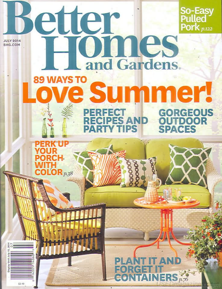 Better Homes And Gardens July 2014