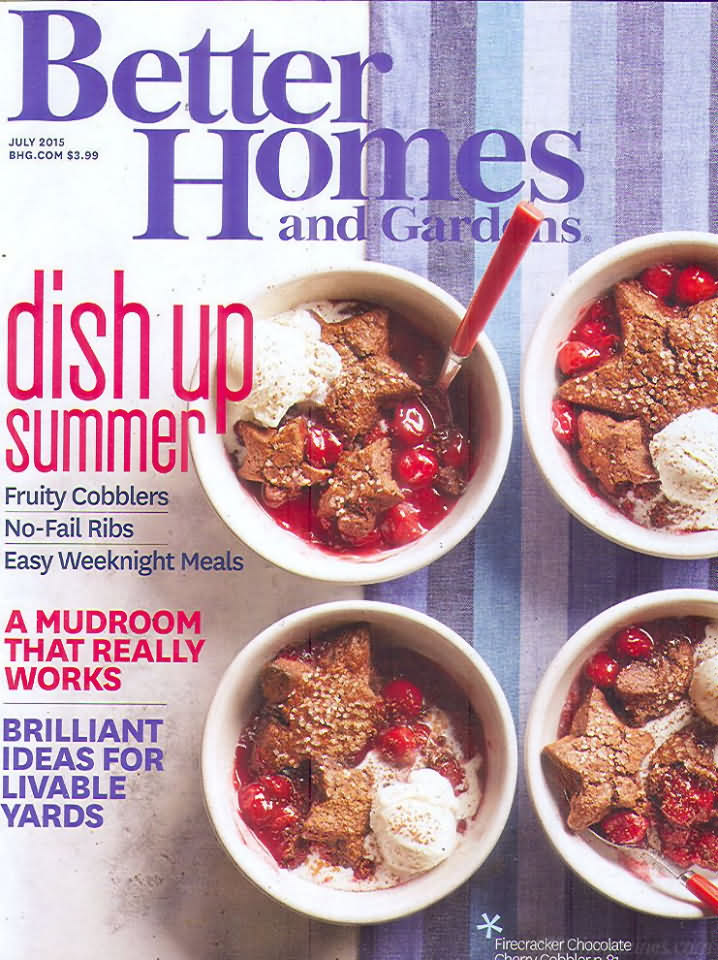 Better Homes And Gardens July 2015