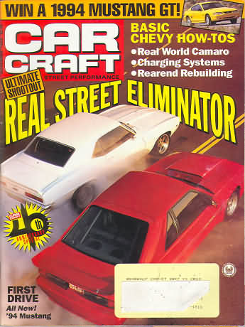 Car craft november 1993 product details for Car craft magazine back issues