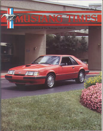 7 Issues MUSTANG TIMES Magazine Mustang Club of America 1979