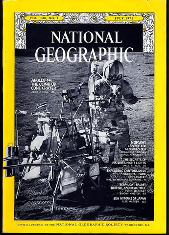 backissues.com - National Geographic July 1971 - Product Details