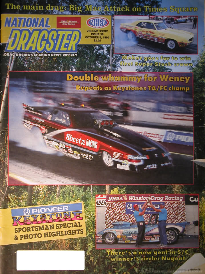National Dragster February 26 1971 Stardust National Open OCIR All Pro Pomona