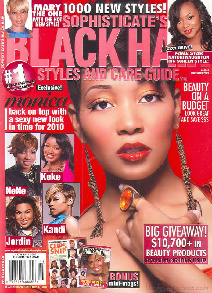 backissues.com - Sophisticate's Black Hair November 2009 - Product ...