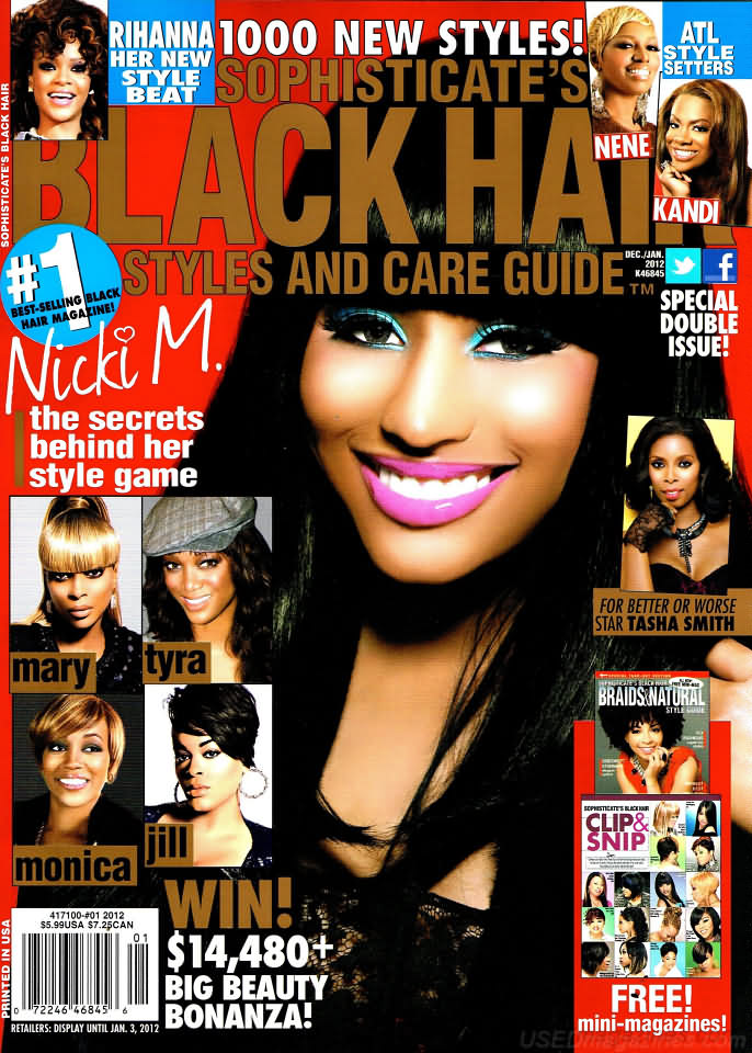 backissues.com - Sophisticate's Black Hair December 2011/January 2012 ...