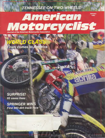 American Motorcyclist January 1993