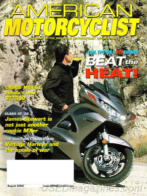 American Motorcyclist August 2002
