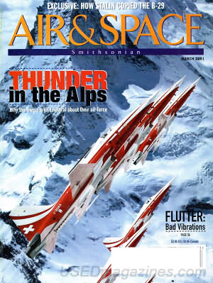 Air & Space March 2001