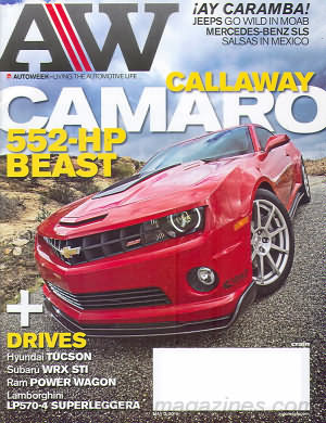 AutoWeek May 03, 2010
