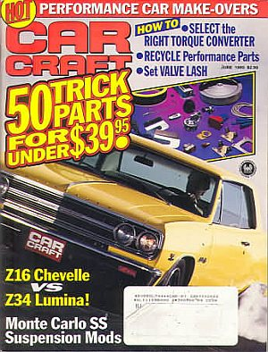 Car craft june 1993 product details for Car craft magazine back issues