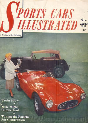 Sports Car Illustrated (Car & Driver) August 1955