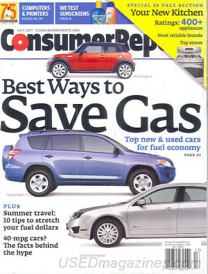 Consumer Reports July 2011