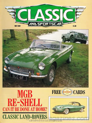 Classic and Sportscar May 1989