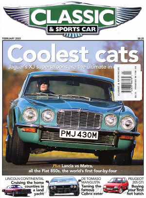 Classic and Sports Car February 2003