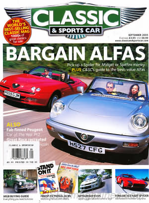 Classic and Sports Car September 2005