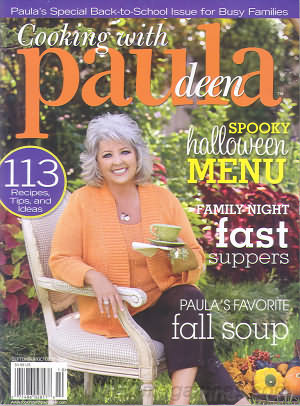 Cooking with Paula Deen September/October 2009