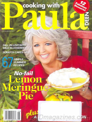 Cooking with Paula Deen July/August 2011