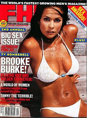 FHM (For Him Magazine) January/February 2003