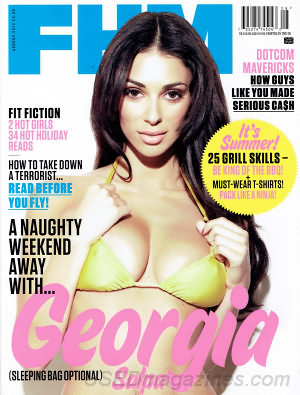 FHM (For Him Magazine) August 2012