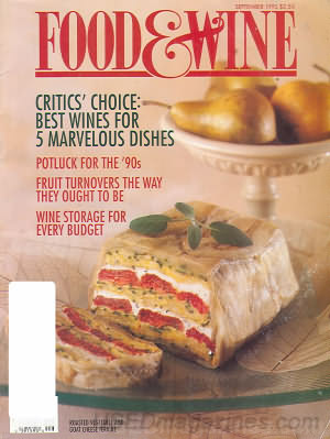 Food & Wine September 1992