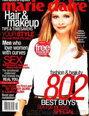 Marie Claire October 2000