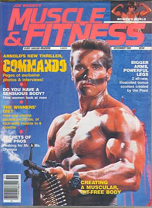 Muscle & Fitness November 1985