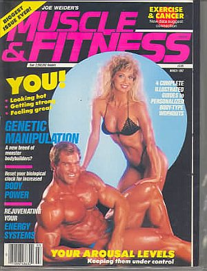 Muscle & Fitness March 1987