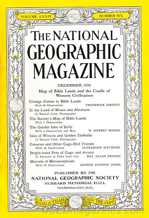 National Geographic December 1938