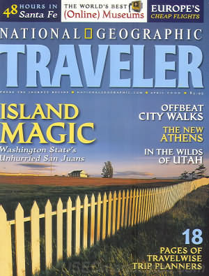 National Geographic Traveler April 2000