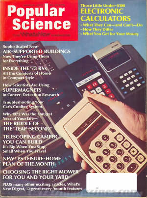 Popular Science March 1973