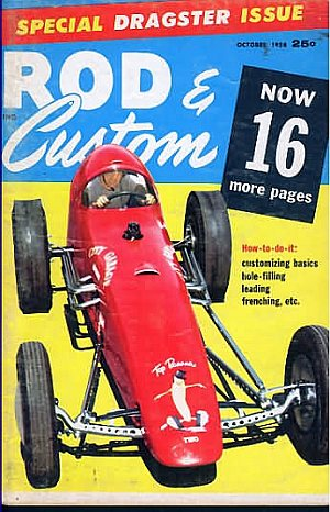 Rod & Custom October 1958