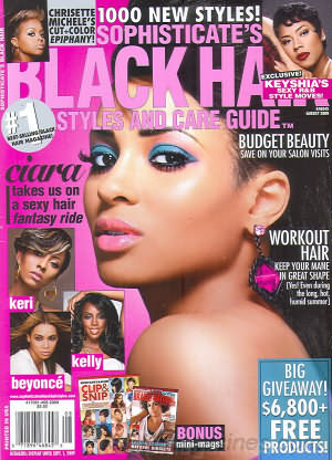 backissues.com - Sophisticate's Black Hair August 2009 - Product ...