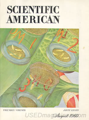 Scientific American August 1960
