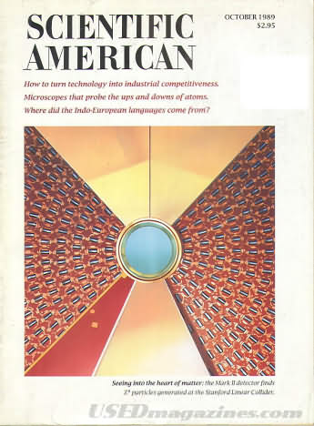 Scientific American October 1989