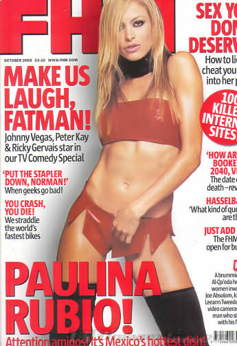 FHM (U.K. Edition) October 2002