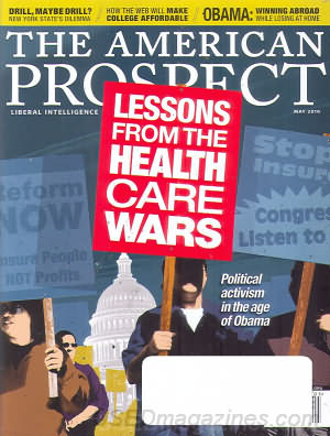 American Prospect May 2010