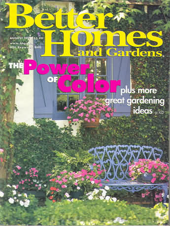 Better Homes and Gardens August 1999