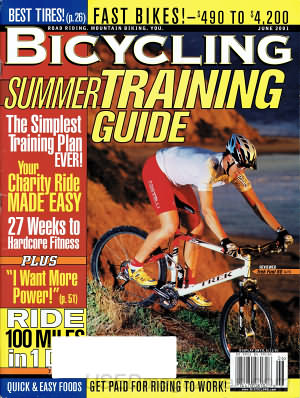 Bicycling June 2001