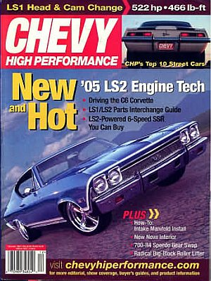 Chevy High Performance December 2004