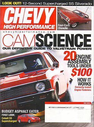 Chevy High Performance May 2005