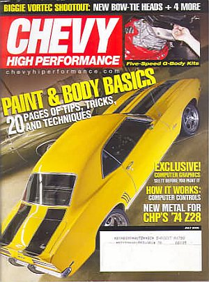 Chevy High Performance July 2005