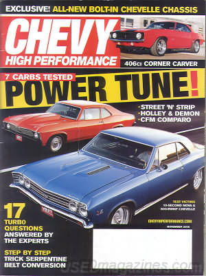 Chevy High Performance November 2006