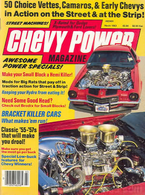 Chevy Power March 1983