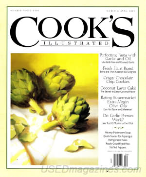 Cook's Illustrated March/April 2001