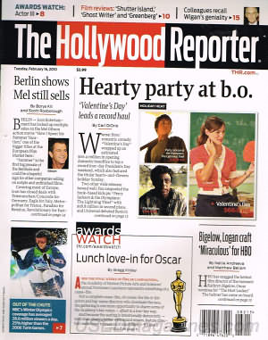 Hollywood Reporter February 16, 2010