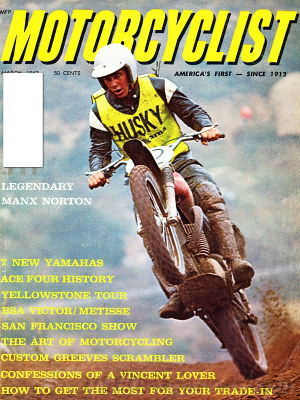 Motorcyclist March 1967