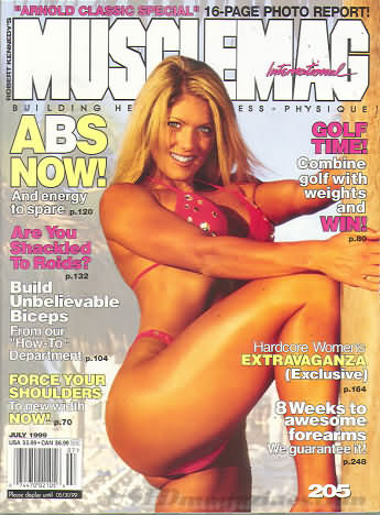MuscleMag July 1999