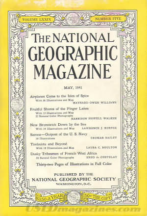 National Geographic May 1941
