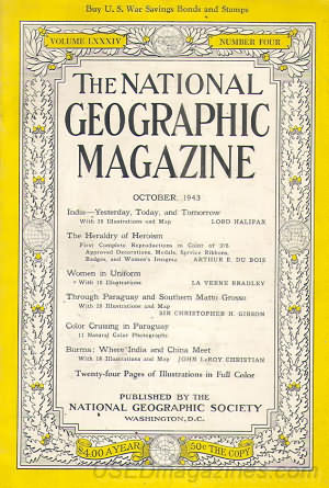 National Geographic October 1943