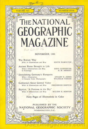 National Geographic November 1946
